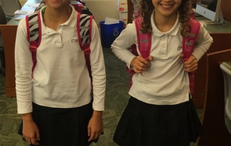 Humans of Sacred Heart - Nicole Mayer and Grace Cadman