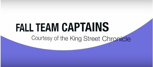 Meet the fall captains - Video Article