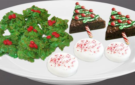 Use these three holiday themed deserts to celebrate the holiday season. Holly Roth '16