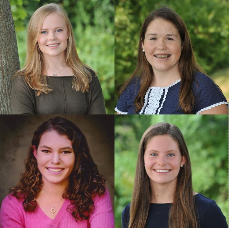 Convent of the Sacred Heart seniors, Lydia Currie, Lizzie Considine, Gracie Smith and Erin Schick plan on continuing their STEM education in college. Maddie Squire '18