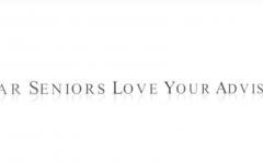 Dear Seniors, Love, Your Advisors - Video Post
