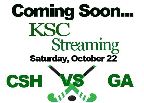 KSC Streaming - Sacred Heart Field Hockey V. GA Saturday October 22 at 3
