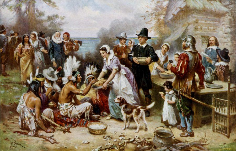 %22The+First+Thanksgiving%22+by+Jean+Leon+Gerome+Ferris