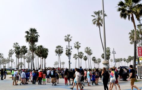 "Photo of the week - ""California Crowd"" - Courtesy of Olivia Teklits'18"