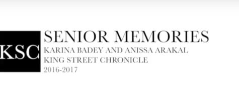 Senior Memories 2017 - Video Post