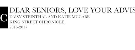 Dear seniors...love, your advisors - Video Post