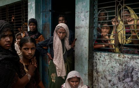 Rohingya people waiting at government building to be assigned to a settlement. Photo courtesy of https://www.nytimes.com/2017/09/18/world/asia/myanmar-rohingya-ethnic-cleansing.html?_r=0