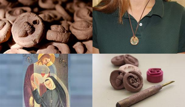 Handmade+necklaces+to+honor+the+anniversary+of+St.+Rose+Philippine+Duchesne