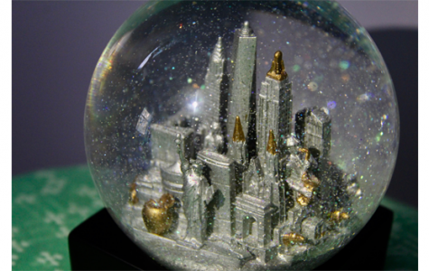 "Art of the Week – ""City in a Snow Globe"" – Courtesy of Sydney Kim '20"