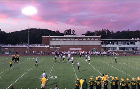 """Art of the Week – """"Friday Night Lights"""" – Courtesy of Meredith Wilson '19"""