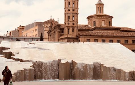 "Art of the Week – ""Fuente de la Hispanidad"" – Courtesy of Caitlyn Mitchell '20"