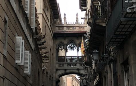 "Art of the Week – ""Barcelona Alleyway"" – Courtesy of Laura Ferrucci '19"