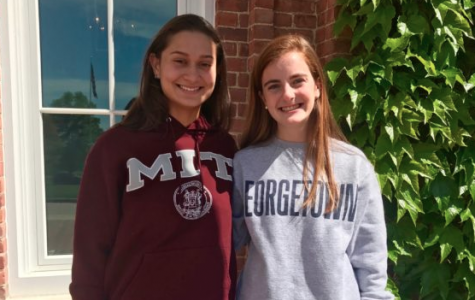 """""""Humans of Sacred Heart"""" - Kathryn Goodfriend '18 and Pau Barbosa '18"""