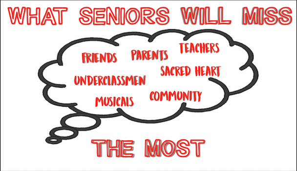 What seniors will miss most about Sacred Heart