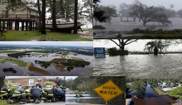 Hurricane Florence leaves lasting damage on the United States east coast