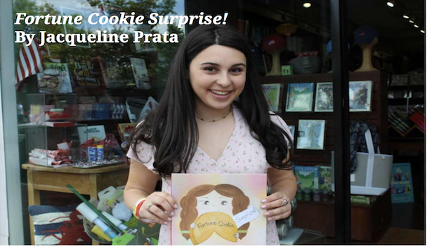 Jackie Prata '20 publishes her book, Fortune Cookie Surprise!