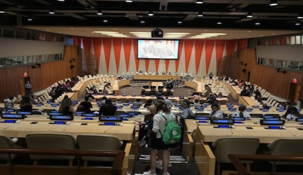 Students Attend International Day of the Girl at the United Nations
