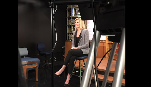 """NBC's Kate Snow shares her story with """"Today From the Heart"""" students"""