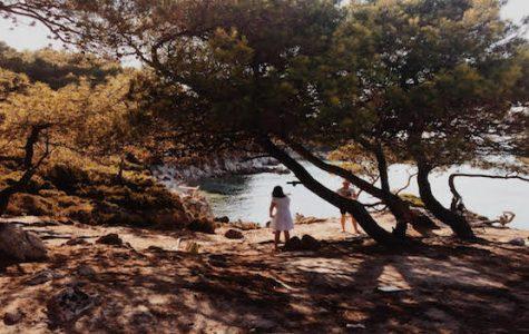 "Art of the Week – ""Sarti, Greece"" – Zoe Kassapidis '20"