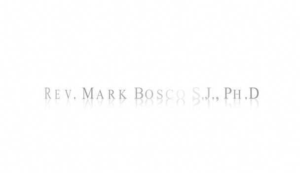 Interview with Rev. Mark Bosco, S.J., Ph.D - Video Post