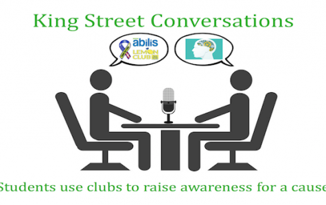 King Street Conversations: Students use clubs to raise awareness and provide service - Podcast