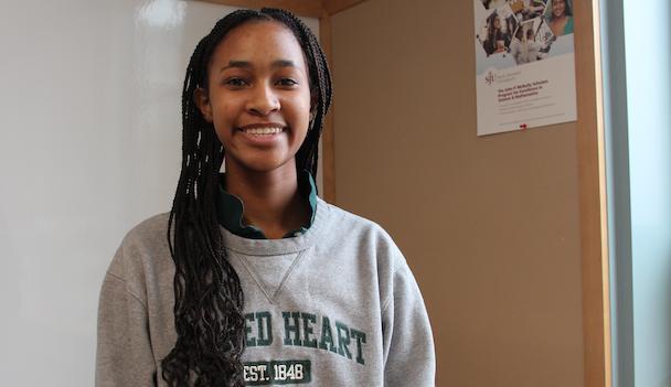 """Humans of Sacred Heart"" - Olivia Andrews '20"