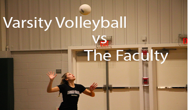 Varsity+volleyball+serves+up+a+Christmas+game+with+the+faculty