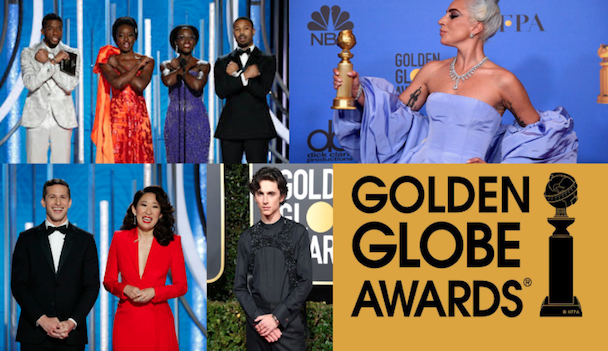 The 76th annual Golden Globes dominated by upsets