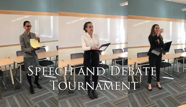 Uniting acting and history through the Speech and Debate team