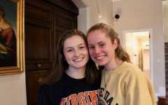 """Humans of Sacred Heart"" - Kristen Walsh '19 and Meredith Wilson '19"