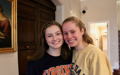 """""""Humans of Sacred Heart"""" – Kristen Walsh '19 and Meredith Wilson '19"""