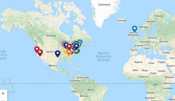 Senior Map - 2019