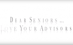 Dear Seniors....Love, Your Advisors (Video Post)