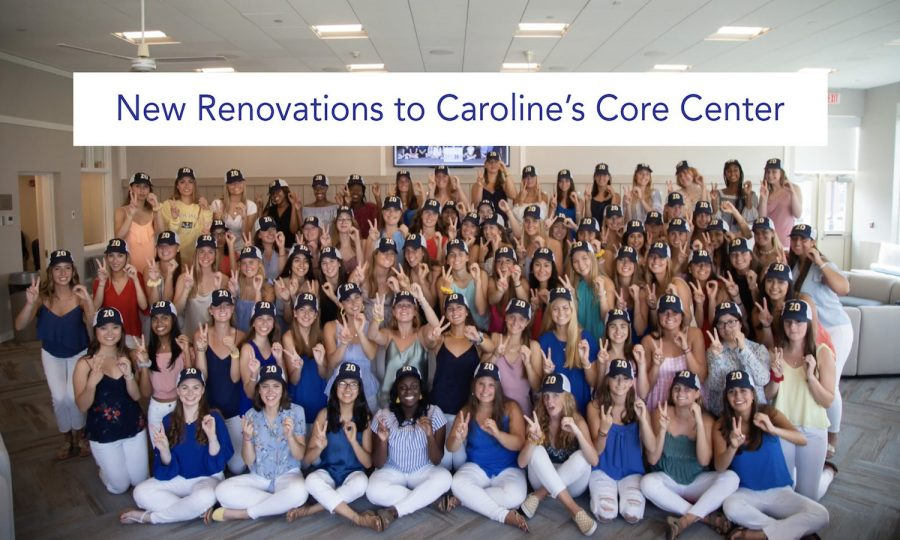 Newly renovated student Core Center brings the Upper School community together