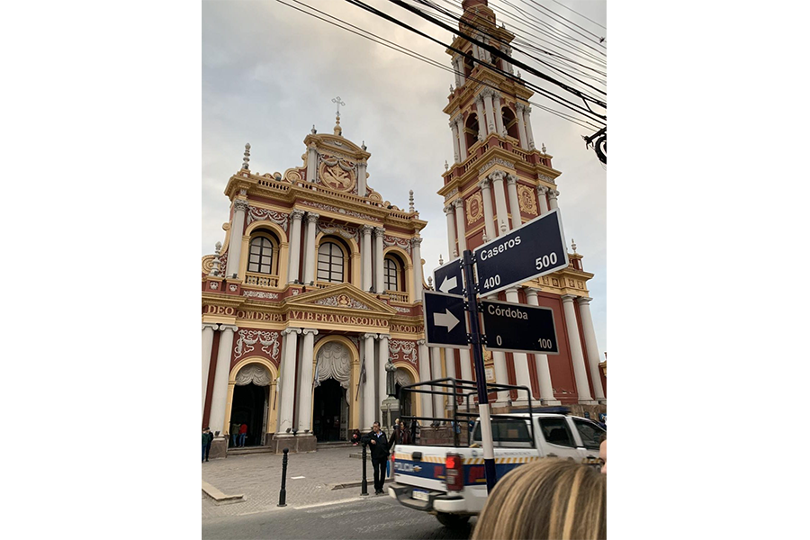 "Art of the Week - ""St. Francis Church, Salta"" -  Mia Lopez del Punta 21"