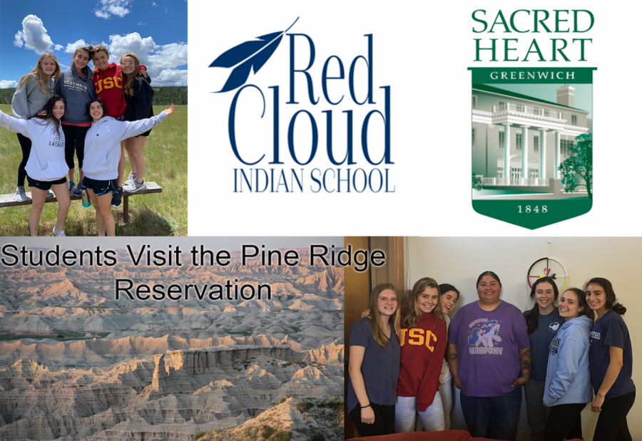 Sacred Heart students visit the Pine Ridge Reservation