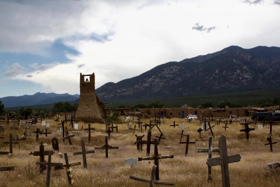 Art of the Week –  Taos Graveyard – Mae Harkins 20