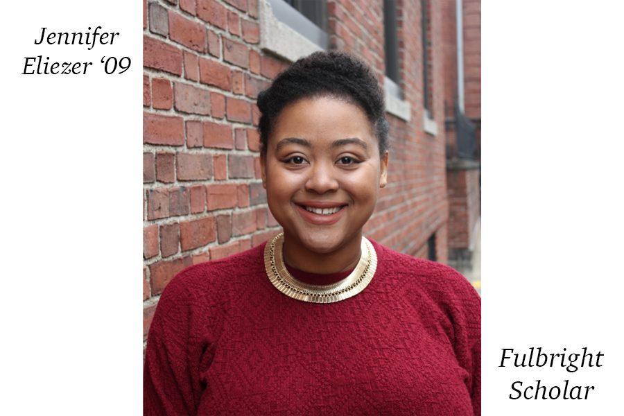 Ms. Jennifer Eliezer '09 receives Fulbright grant