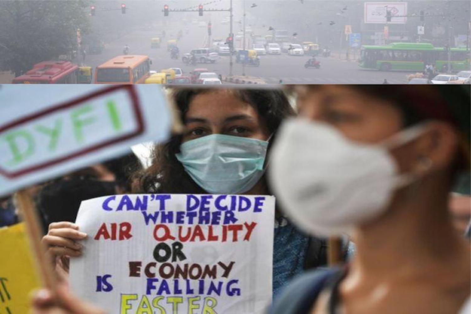 New Delhi's poor air quality poses dangerous living conditions for its citizens.