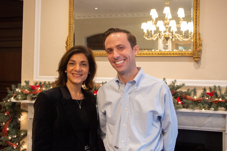 Mrs. Christina Di Capua P'23 and Mr. Daniel Favata initiated the