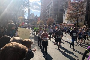 Alumnae join thousands of athletes to run for a cause