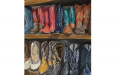 "Art of the Week – ""Rodeo"" – Arielle Uygur '20"