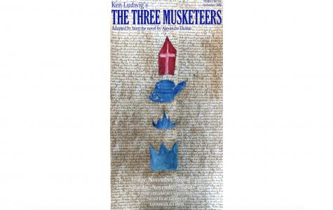"""Art of the Week – """"The Three Musketeers"""" – Mimi Lee '22"""