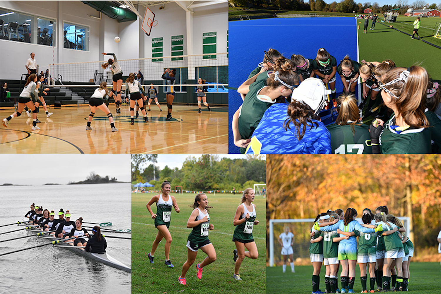 Five Sacred Heart Greenwich sports teams qualified for the FAA tournaments this fall season and two sports advanced to the NEPSAC tournament.