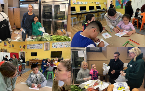 Sacred Heart Greenwich students and families volunteer at four different sites on the second annual day of service.