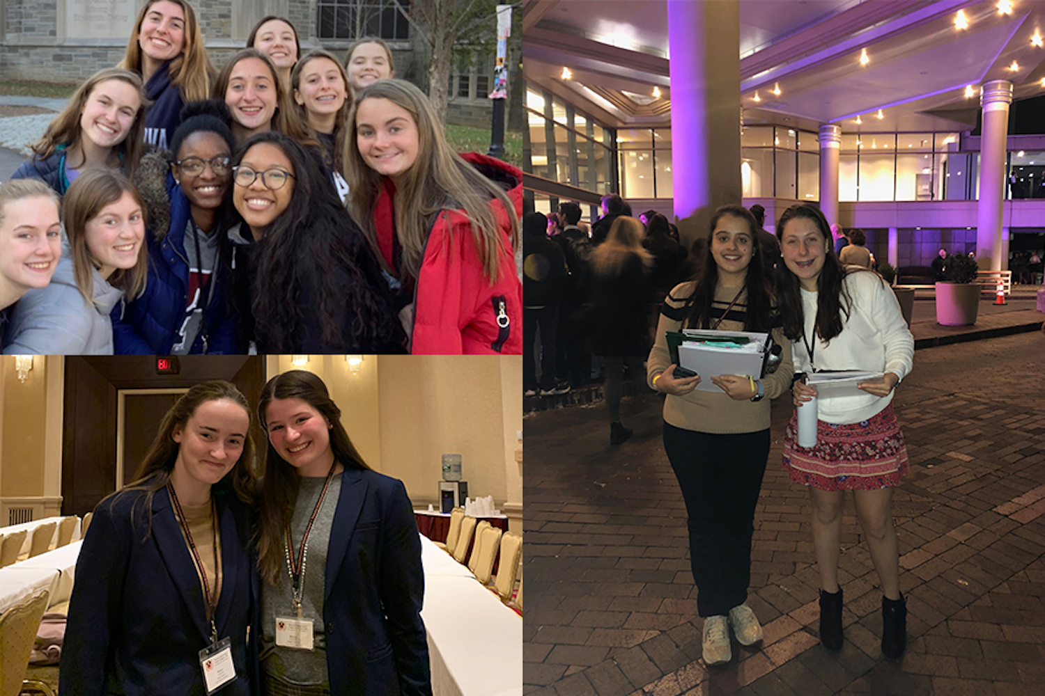 Twenty-four Sacred Heart students attend the Princeton Model United Nations Conference.
