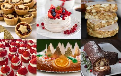 Exchange studentsexplain their Christmas cuisine