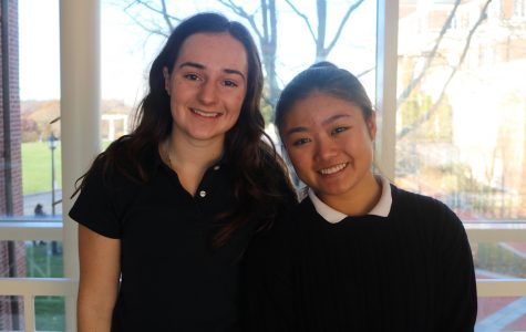 """Humans of Sacred Heart"" – Alexa Choy '20 and Christine Plaster '20"