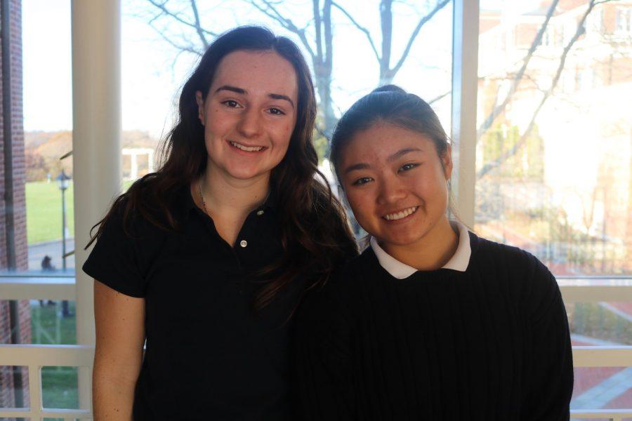 Humans of Sacred Heart - Alexa Choy 20 and Christine Plaster 20