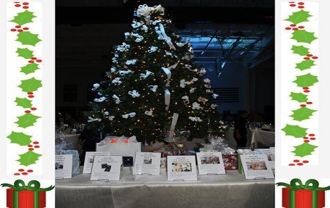 Sacred Heart Greenwich kicks off the holiday season with the sixth annual Come Home for Christmas festivities.   Sofia Pye' 21